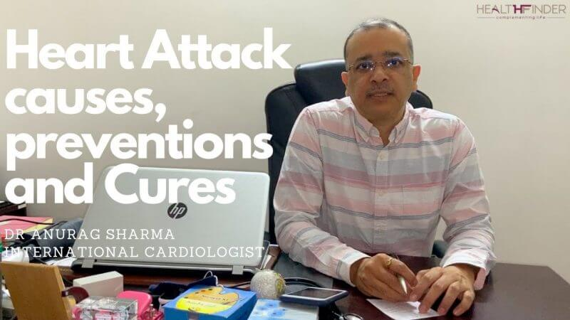 Heart Attack causes, Preventions & Cures